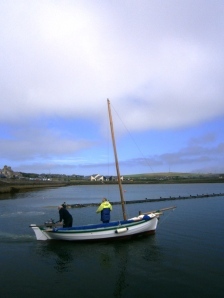 "We have mentioned before that many coastal communities have developed their own traditional boats over the centuries. This is a Strmness ""yole"" - albeit with the addition of a modern outboard"