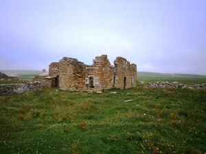 The house built for the last bishop of Orkney at Breckness over looking the Sound of Hoy in ??