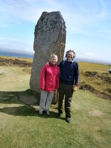 The Ring of Brodgar stones are not small!