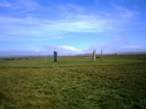 The remains of the Circle of Stenness