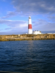 The lighthouse at the southern end of Portland is the true Portland Bill - not the headland!